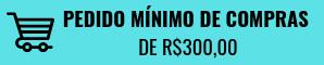 Pedido Mínimo de R$300,00