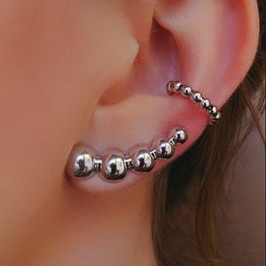 BRINCO EAR CUFF BOLAS BM032-R