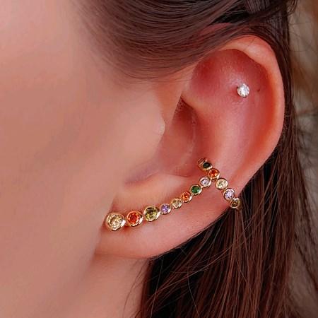 BRINCO EAR CUFF COLORS CITRINO BM765-O