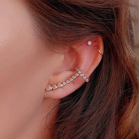 BRINCO EAR CUFF CRISTAL BM765-O