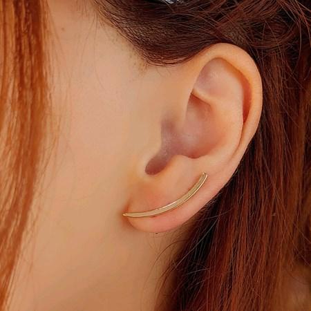 BRINCO EAR CUFF LISO NO OURO BM814-O