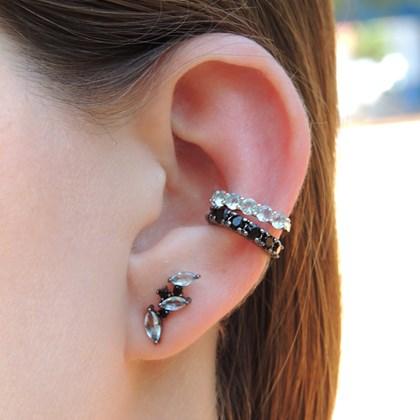 BRINCO EAR CUFF NAVETE ACQUA GM1016-G