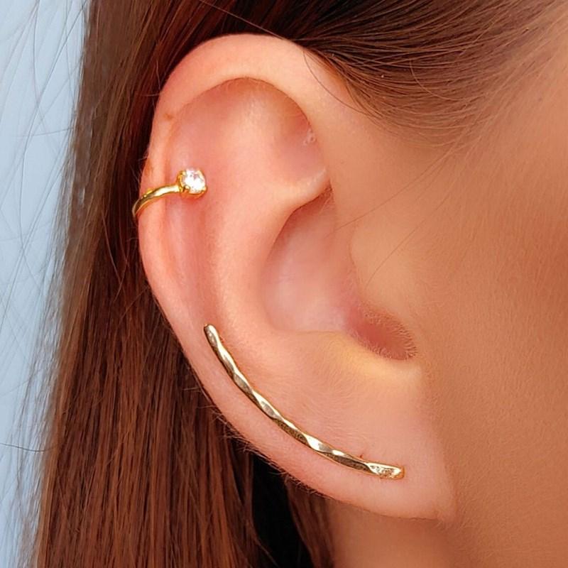 BRINCO EAR CUFF SLIM DE PRESSÃO BM257-O