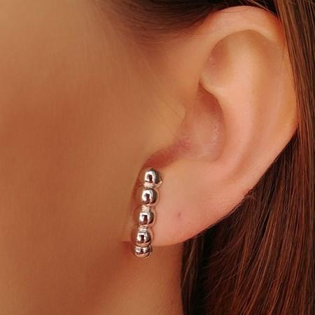 BRINCO EAR HOOK DE BOLINHAS BM188-R